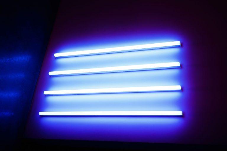 Three Flourescent Light Tubes
