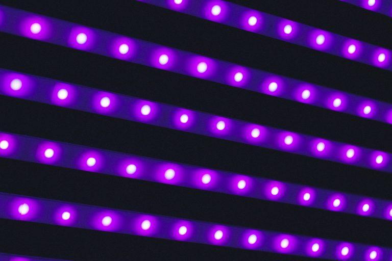 Violet LED Light Strip