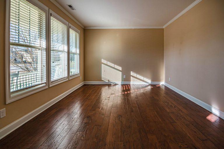 Empty Room Lit by Sunlight